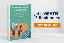 CTA E-Book Verkaufstraining mit Wirkung
